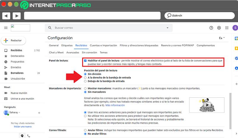 Aprenda paso a paso cómo activar la vista previa de correos electrónicos en Gmail de manera fácil y rápida
