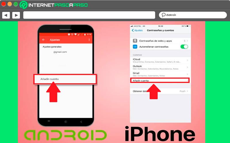 Aprenda paso a paso cómo agregar una segunda o tercera cuenta de Gmail a su teléfono móvil Android o iOS