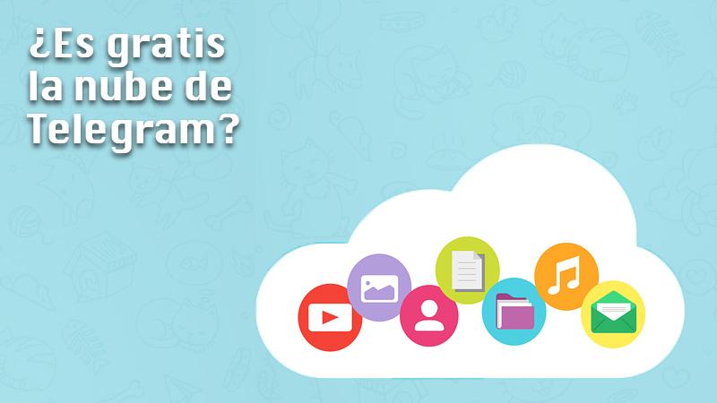 ¿Telegram es gratis en la nube?