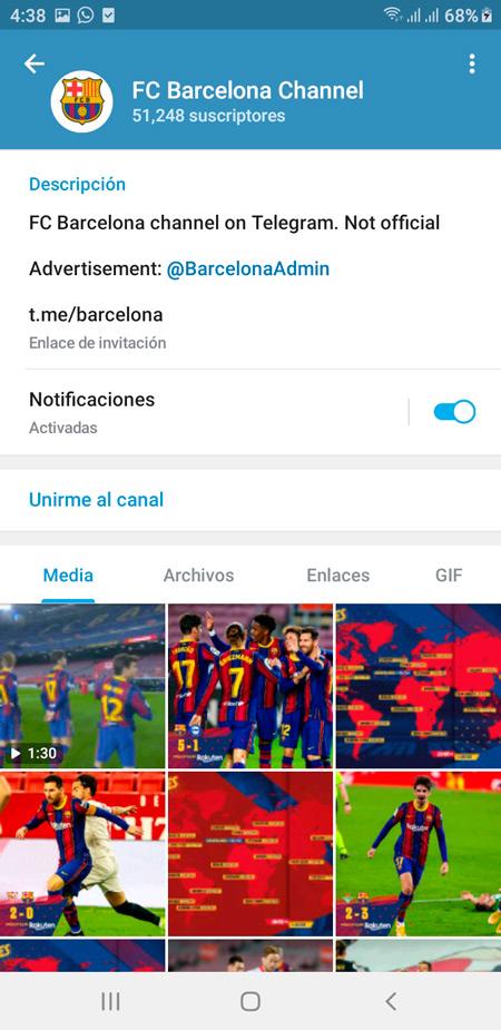 Canal FC Barcelona