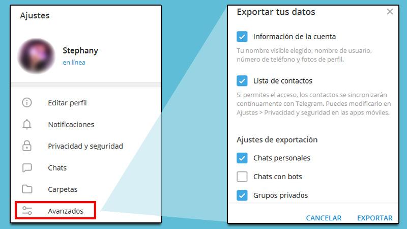 Descubra cómo hacer una copia de seguridad de todas sus conversaciones en Telegram y restaurar