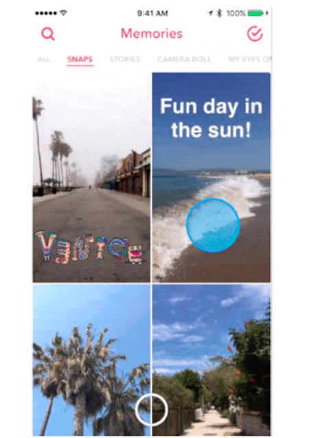 Aprende a editar un Snap en tus memorias y accede a viejos geofiltros