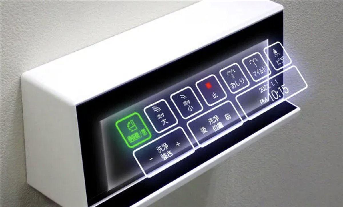 botones de baño