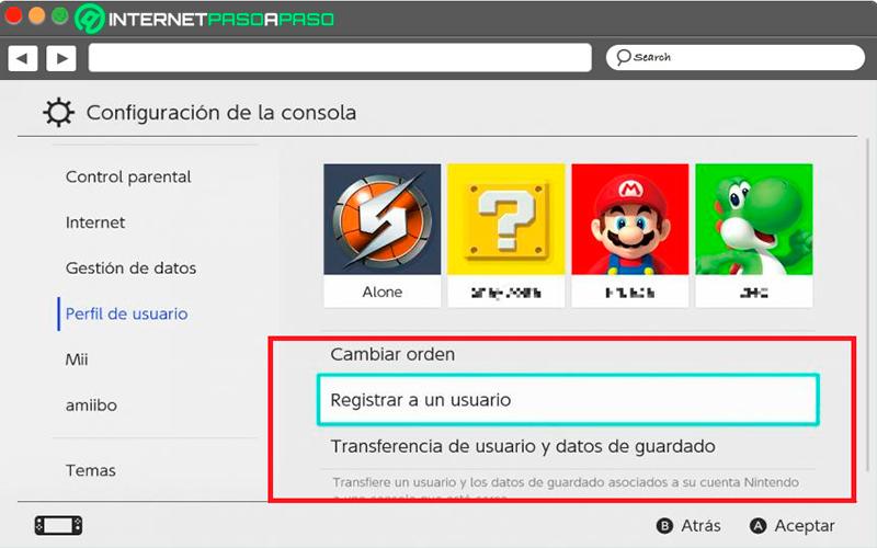 Aprende paso a paso cómo funciona tu cuenta de Nintendo Switch y comparte algunos juegos con tus amigos