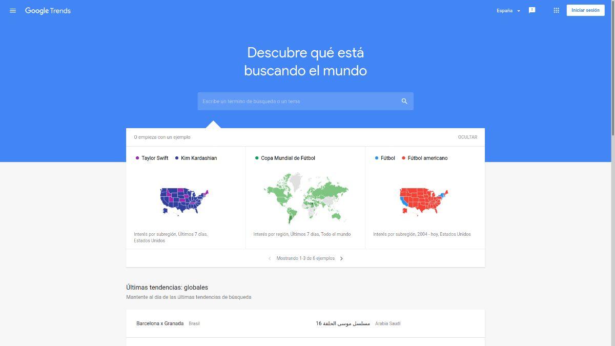 Cómo utilizar Google Trends